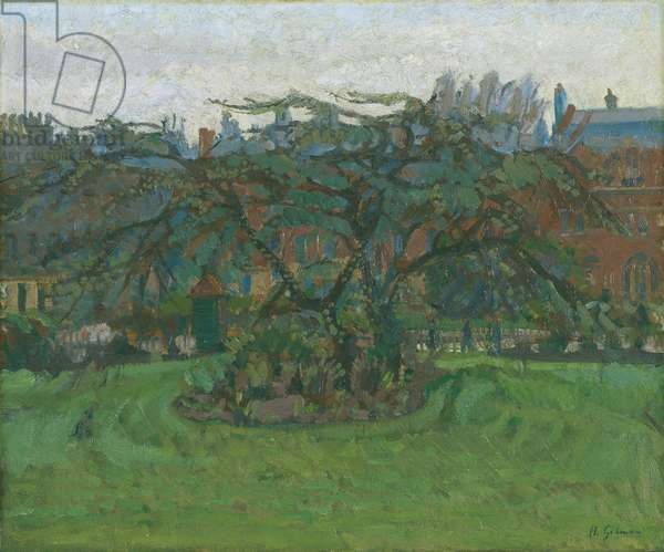 Clarence Gardens NW1, 1912 (oil on canvas)