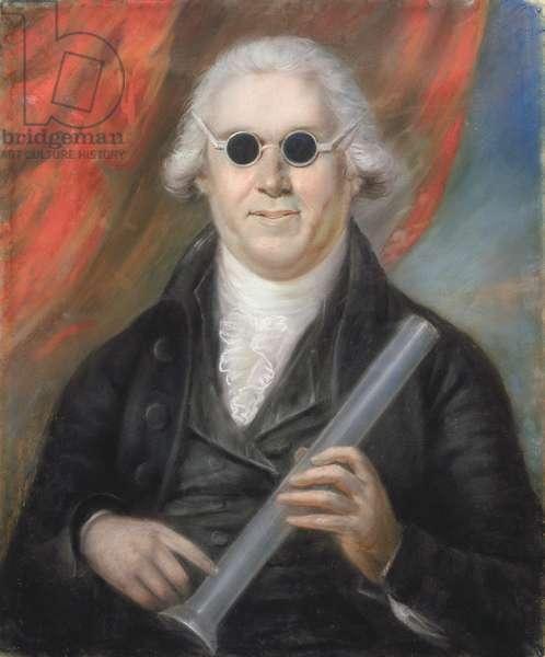 Portrait of Mr Moyes M.D., 1792 (pastel on paper)