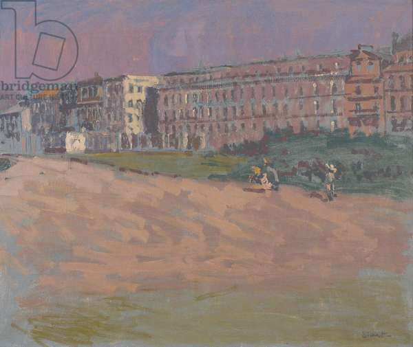 The Hotel Royal, Dieppe, c.1900-01 (oil on canvas)