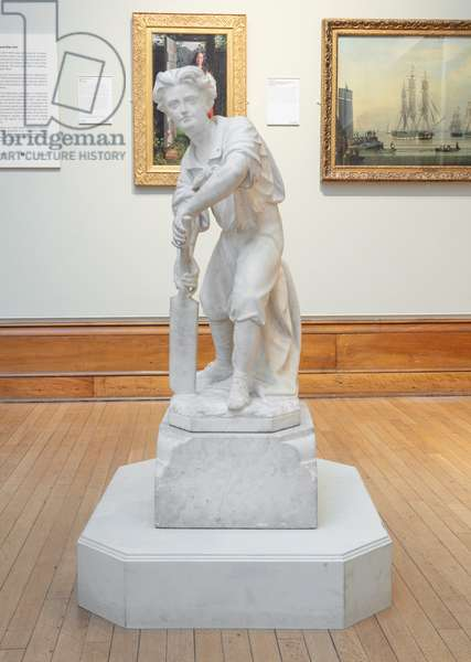 The Batsman (or The Young Cricketer), 1895 (marble)