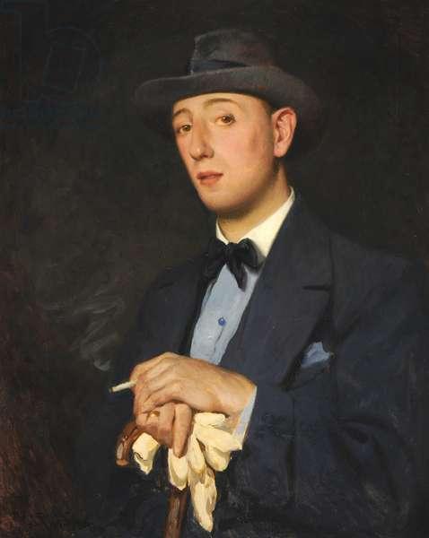 Portrait of 'Jimmy' James (Mr Ernest William James), 1916 (oil on canvas)