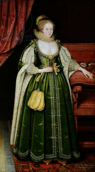 Portrait of a Lady, 1618 (oil on canvas)