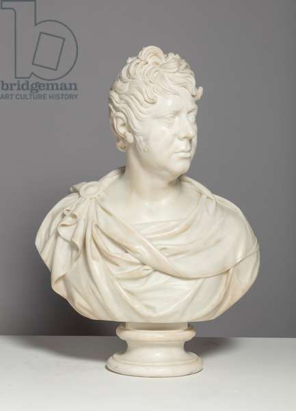 George IV when Prince Regent c.1808 (marble)