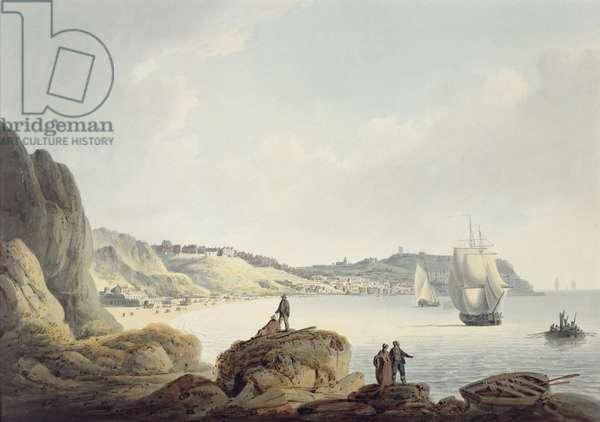 Scarborough, c.1820 (pencil & w/c on paper)