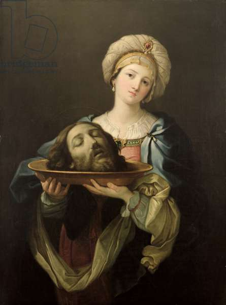 Salome with the Head of St. John the Baptist, after a painting by Guido Reni (1575-1642), c.1761 (oil on canvas)