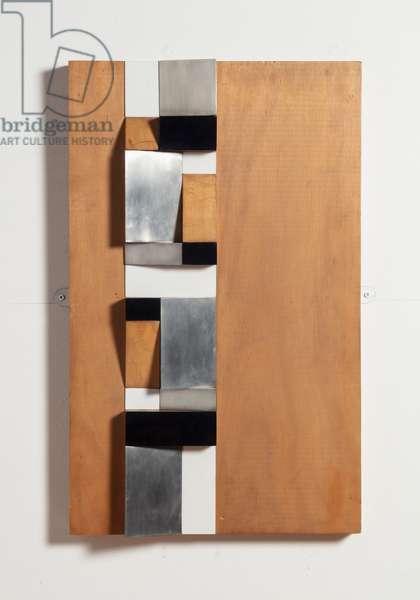 Climbing Form, 1962 (metal & wood)