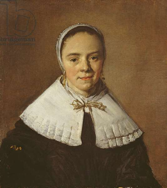 Portrait of a Young Woman (oil on canvas)