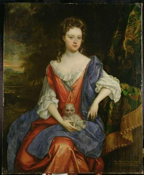 Portrait of Mary, Lady Barrington Bourchier (oil on canvas)