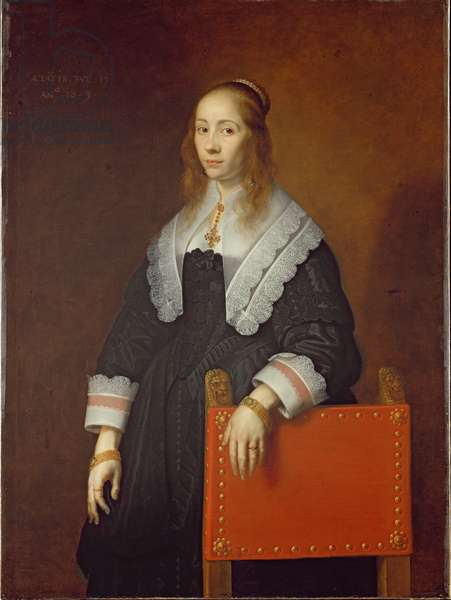 A Young Woman, 1643 (oil on canvas)