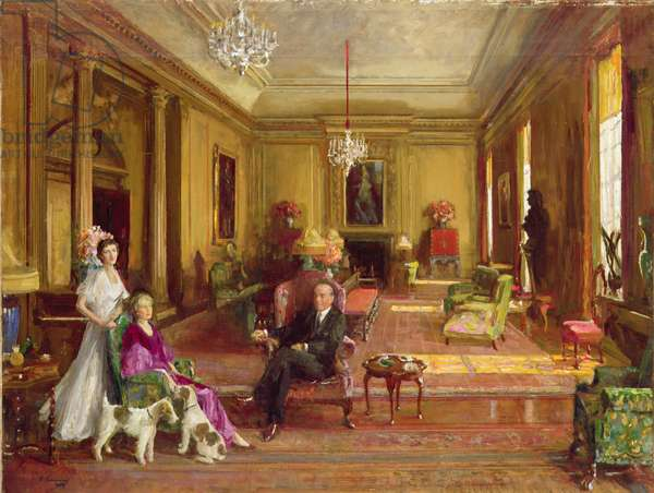 Lord Duveen of Millbank at Home, 1939 (oil on canvas)