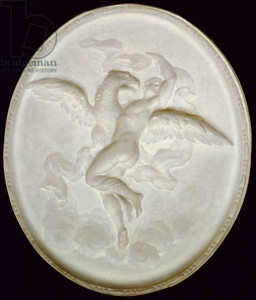Jupiter and Ganymede (oil on canvas)