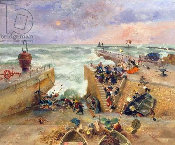 Marine Harvest, 1949 (oil on canvas)