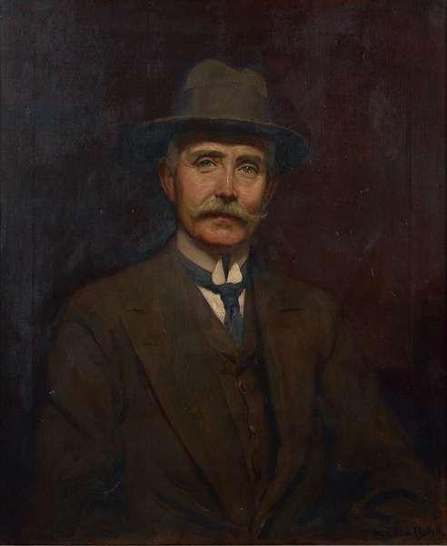 Self Portrait, 1911 (oil on canvas)