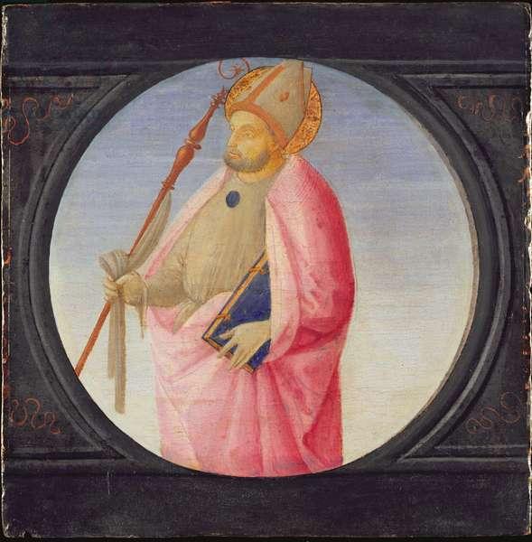 A Bishop Saint, c.1500 (tempera on panel)