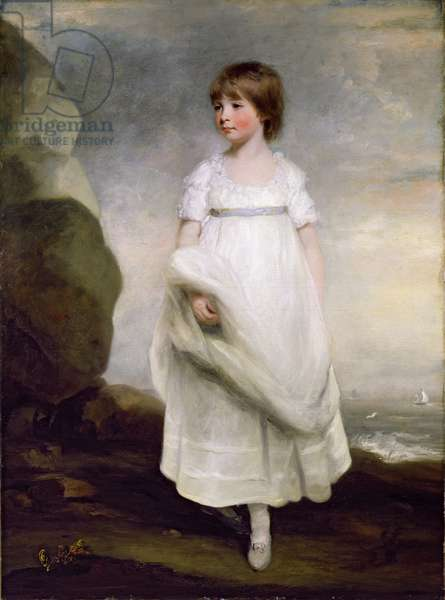 Portrait of Anne Isabella Milbanke (1792-1860) later Lady Byron, c.1800 (oil on canvas)