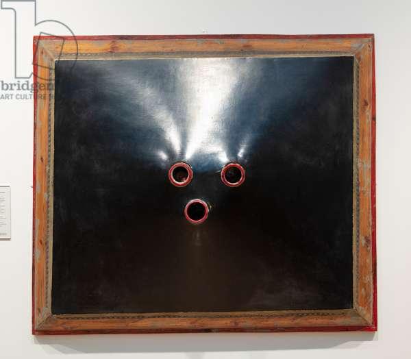 Three Holes, 1963-64 (canvas)