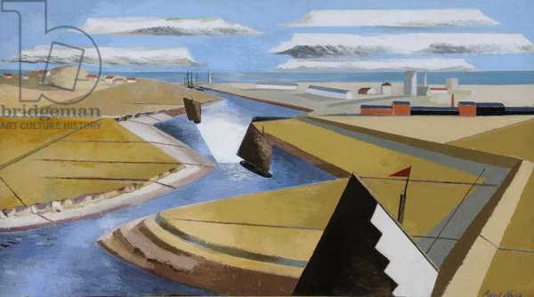 The Rye Marshes, 1932 (oil on canvas)
