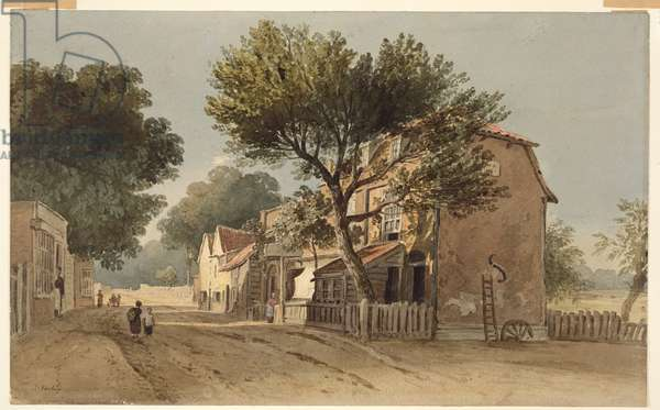 Leyton, Essex, c.1800 (w/c on paper)