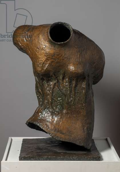 Draped Torso, 1953 (bronze)