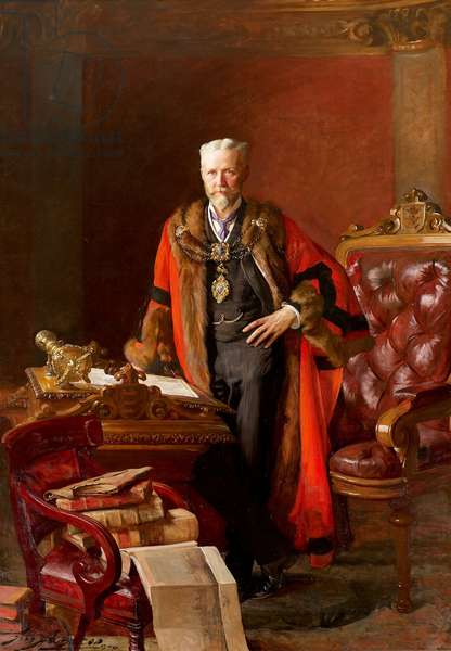 Sir William Alfred Gelder, 1904 (oil on canvas)