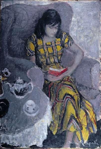 Eileen (oil on panel)