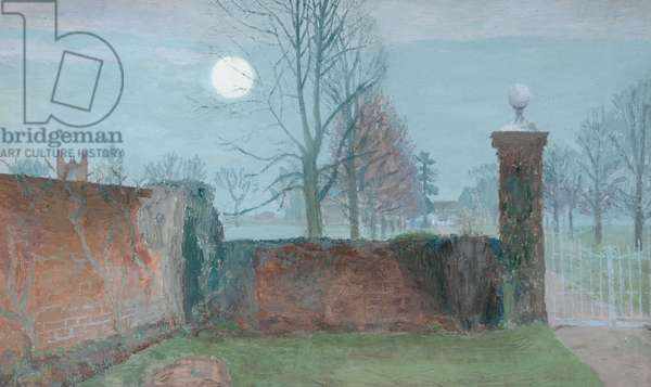Rising Moon, 1930s (oil on canvas)