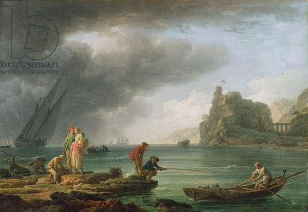 Coast Scene, 1763 (oil on canvas)
