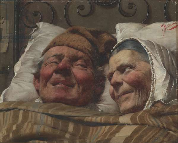 The Golden Wedding, c.1890 (oil on canvas)