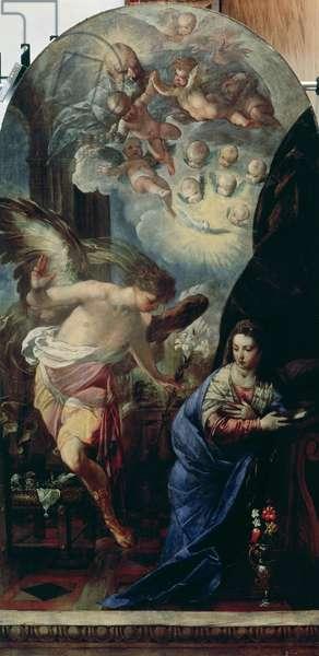 The Annunciation, c.1657-60 (oil on canvas)