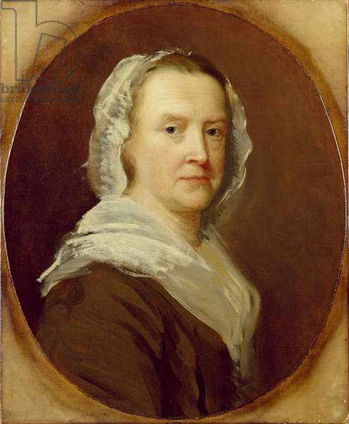 Portrait of an Unknown Woman, mid-18th century (oil on canvas)