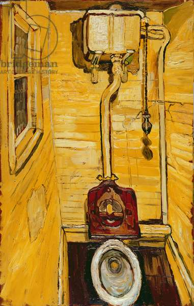 The Toilet, 1956 (oil on hardboard)