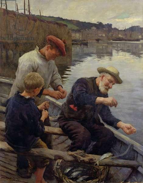 Newlyn, 1906 (oil on canvas)