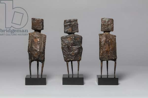 Maquette for the Watchers, 1961 (bronze)