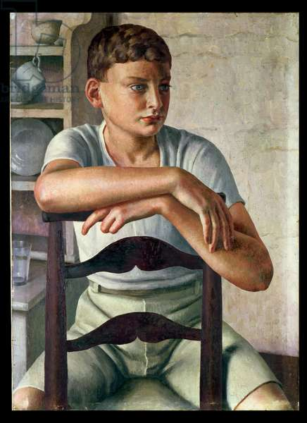 Young Roman, c.1928-29 (oil on canvas)