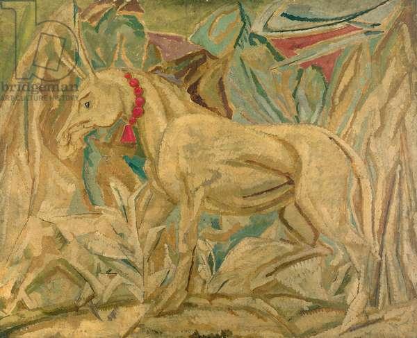 The Ass, 1913 (oil on canvas)