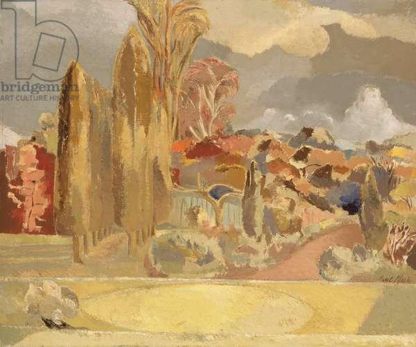 Michaelmas Landscape, 1943 (oil on canvas)