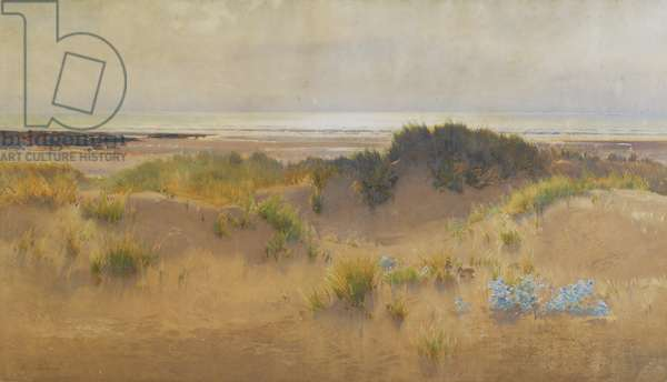 Within Sound of the Sea, 1895 (w/c on paper)