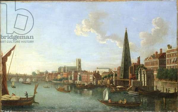 Westminster Bridge (Evening), mid-18th century (oil on canvas)