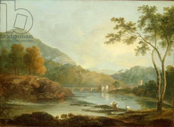 Castell Dinas Bran, Llangollen, c.1771 (oil on canvas)