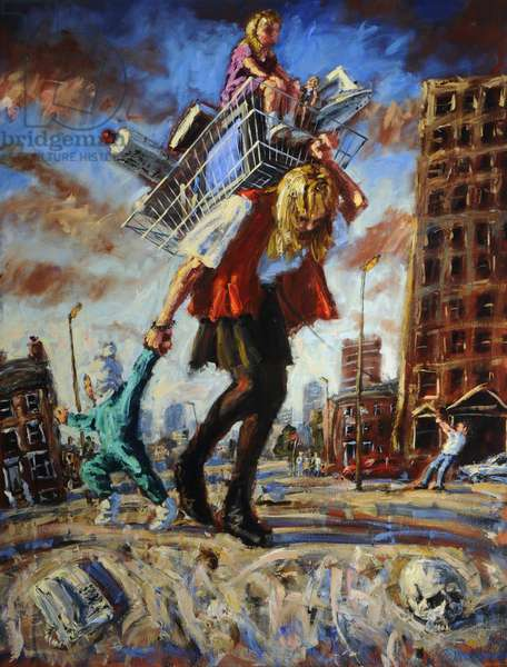 Fairy Tales of London 1, 1992 (oil on canvas)