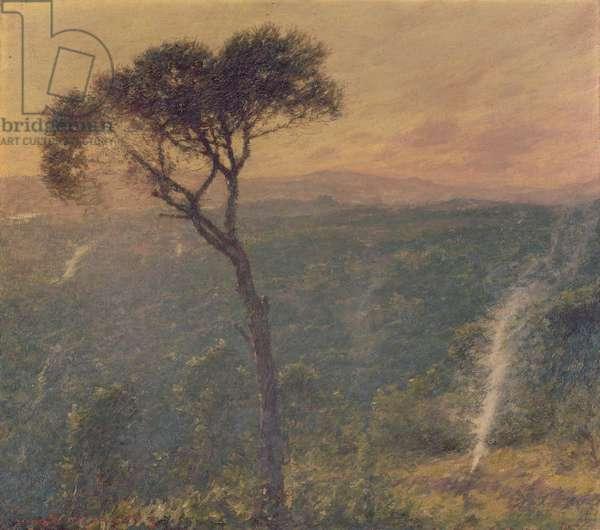 A Ligurian Valley, c.1910 (oil on canvas)