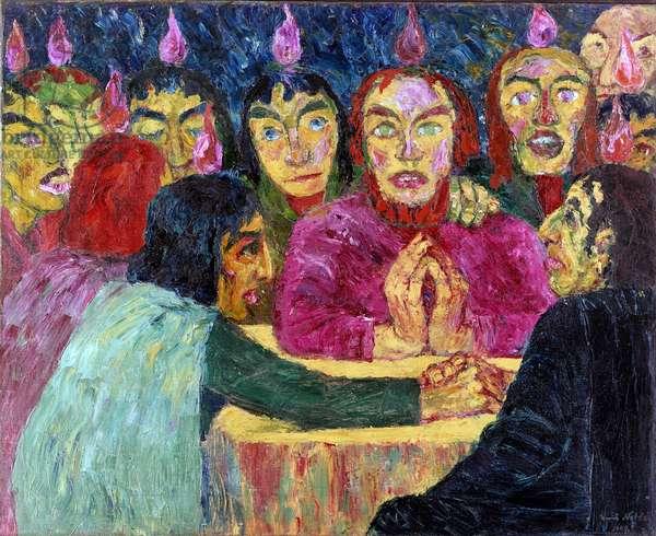 Pentecost, 1909 (oil on canvas)