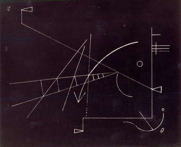 Untitled, 1930 (pen and ink on paper) (b/w photo)