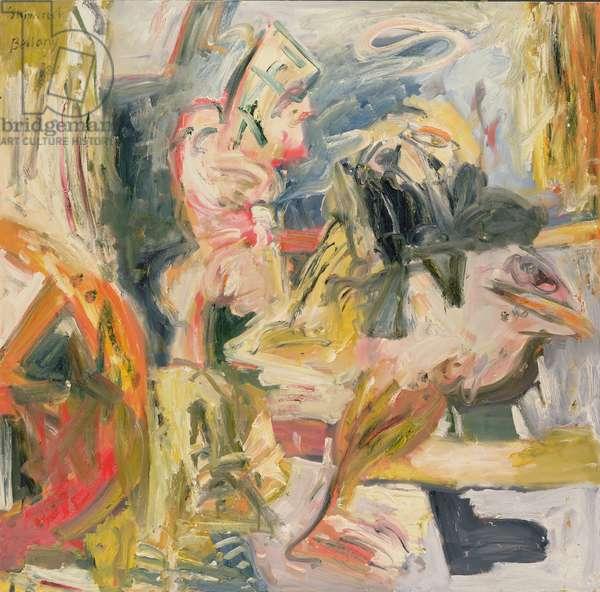 Shipwreck, 1982 (oil on canvas)