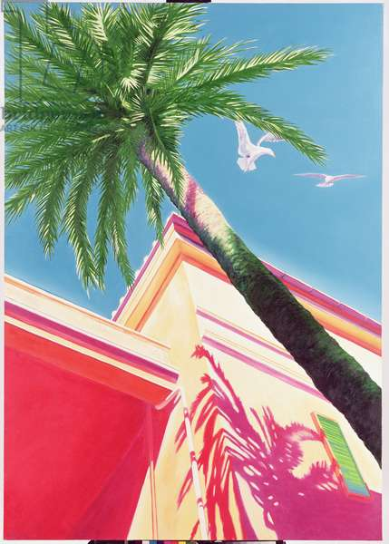 The Palm Tree, 1976 (oil on canvas)