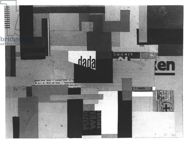 Collage, 1920-22 (collage)