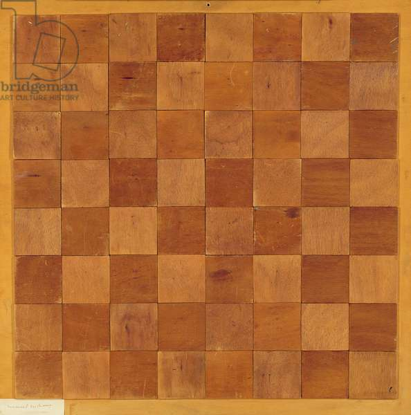Echiquier, 1937 (plywood)