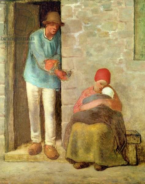 Nourishment, 1858 (oil on canvas)