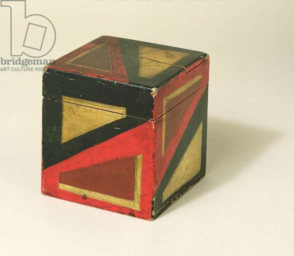 Painted Box, c.1915 (wood)