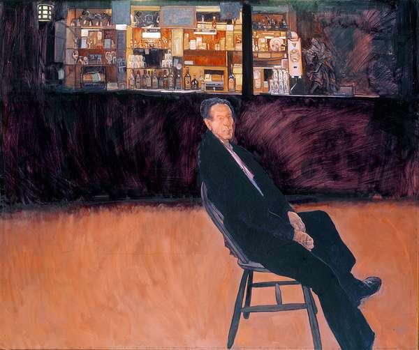 The Brazen Head, 1983 (oil on canvas)
